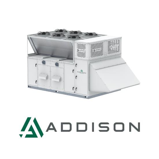 Addison Logo and unit